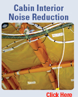 Aerocon aerospace consultant engineering aviation Airplane cabin noise
